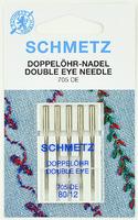 Иглы  Schmetz с двумя ушками для дек. работ 130/705H №80 , 5 шт.