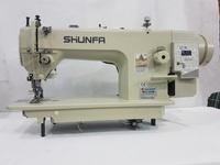 Прямострочная промышленная швейная машина с шагающей лапкой Shunfa SF0303D прямой привод