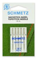 Иглы Schmetz TOP STITCH №80, 5 шт.