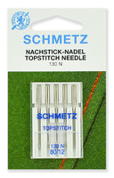 Иглы Schmetz TOP STITCH №80, 5ШТ.