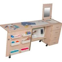 Стол для швейной машины  Комфорт-2L ( до 15 кг )