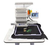Вышивальная промышленная одноголовочная 15-ти игольная машина Velles VE 23CW-TS (Touch Screen)