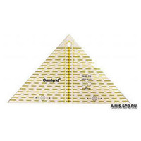 Арт.611313 Линейка треугольник 20х20см.
